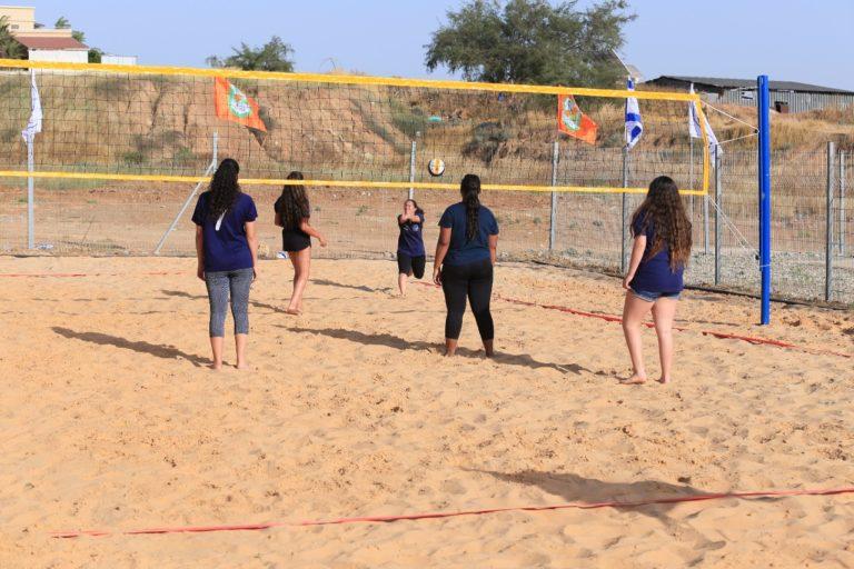 כדורעף חופים - נבחרת הבנות