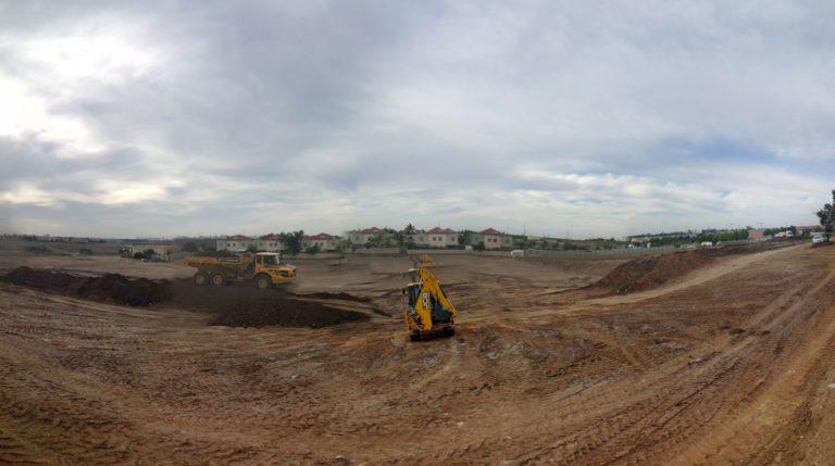 שטח פארק גן יבנה החדש 40 דונם!
